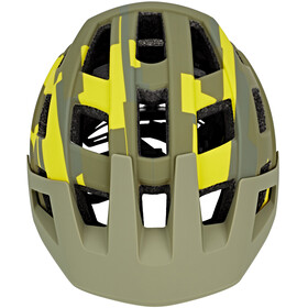 Cube Badger Helm green camo
